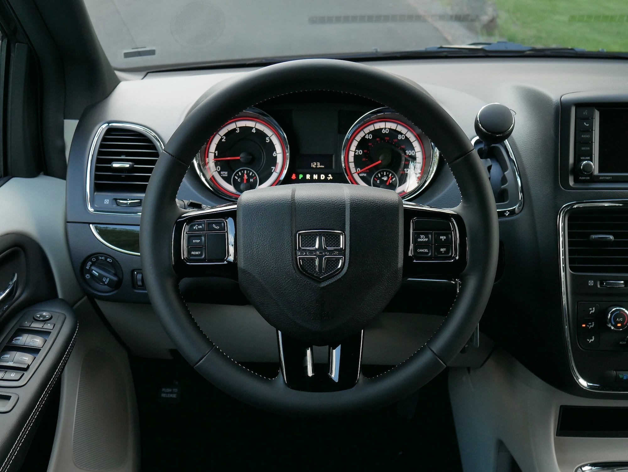 2019 Dodge Grand Caravan steering wheel