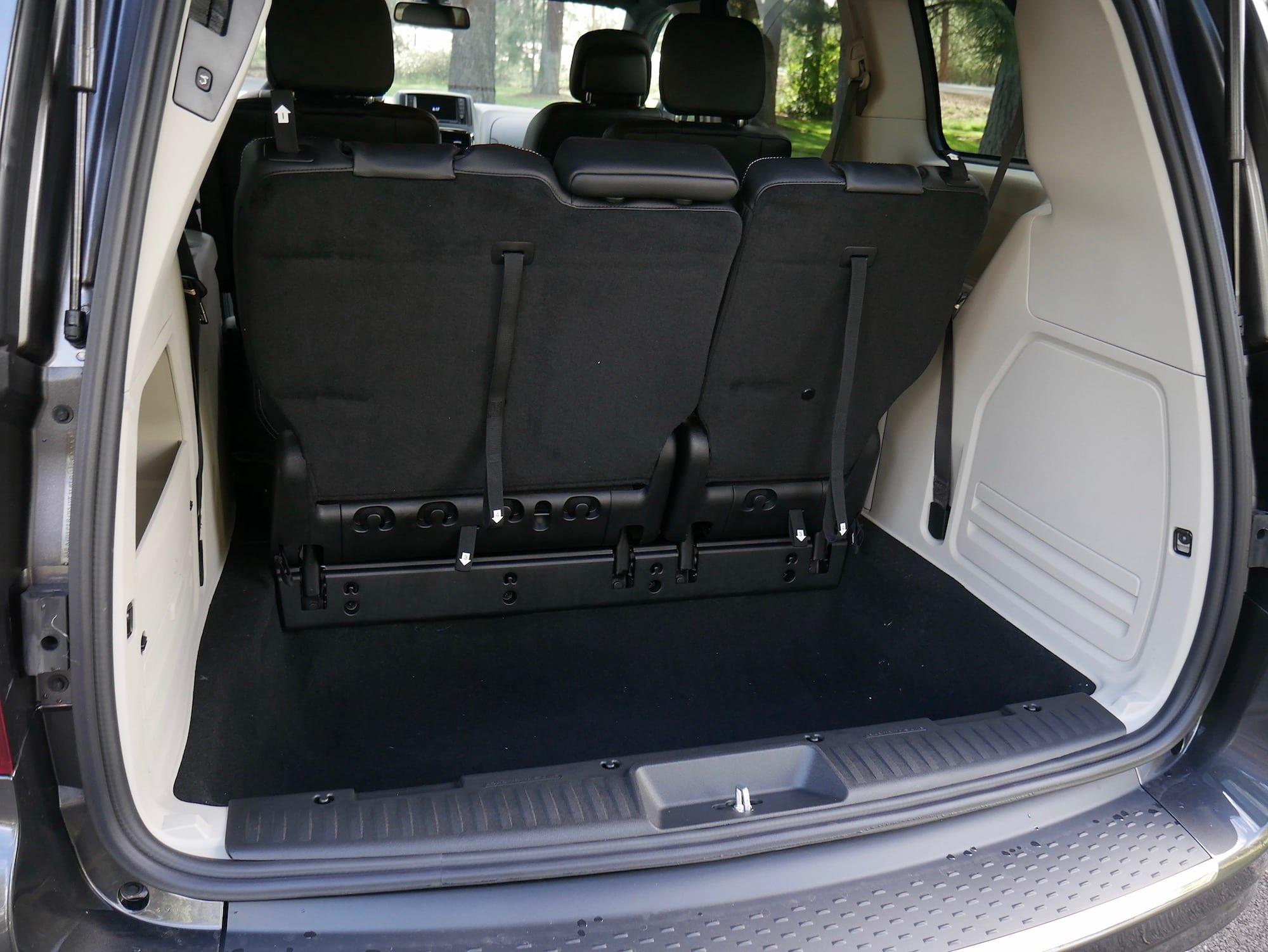 2019 Dodge Grand Caravan cargo area