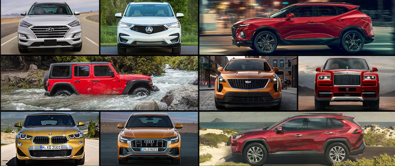 US SUV Sales Figures by Model