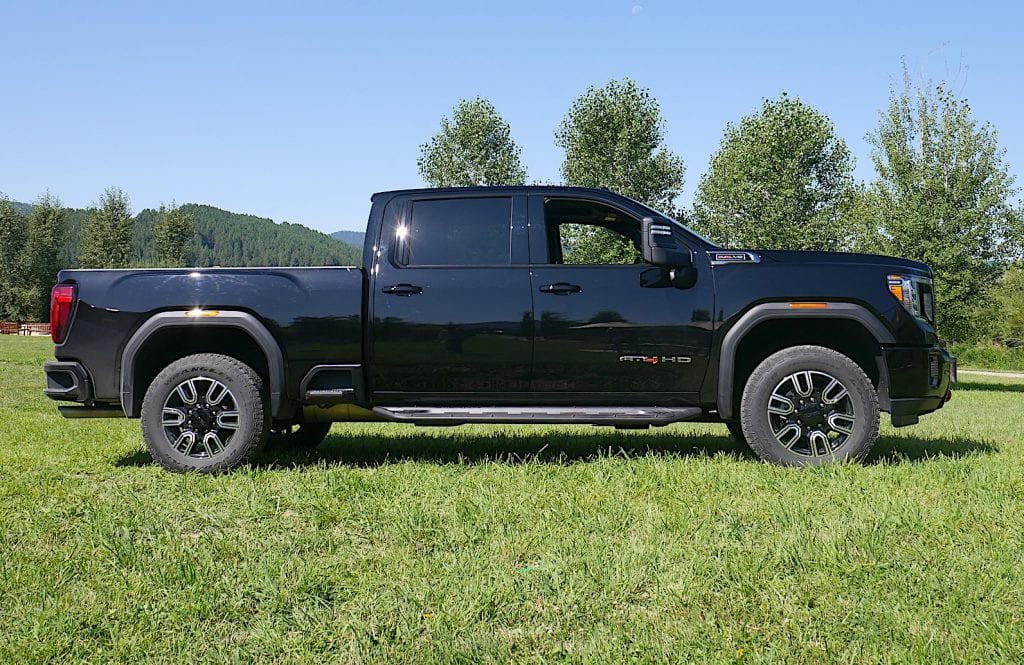 2020 GMC Sierra HD profile