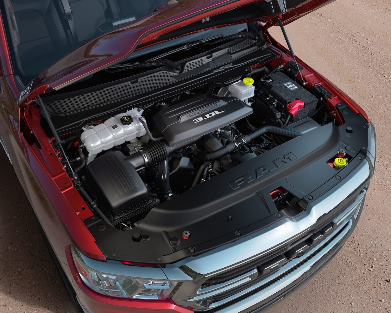 2020 Ram 1500 EcoDiesel Open Hood