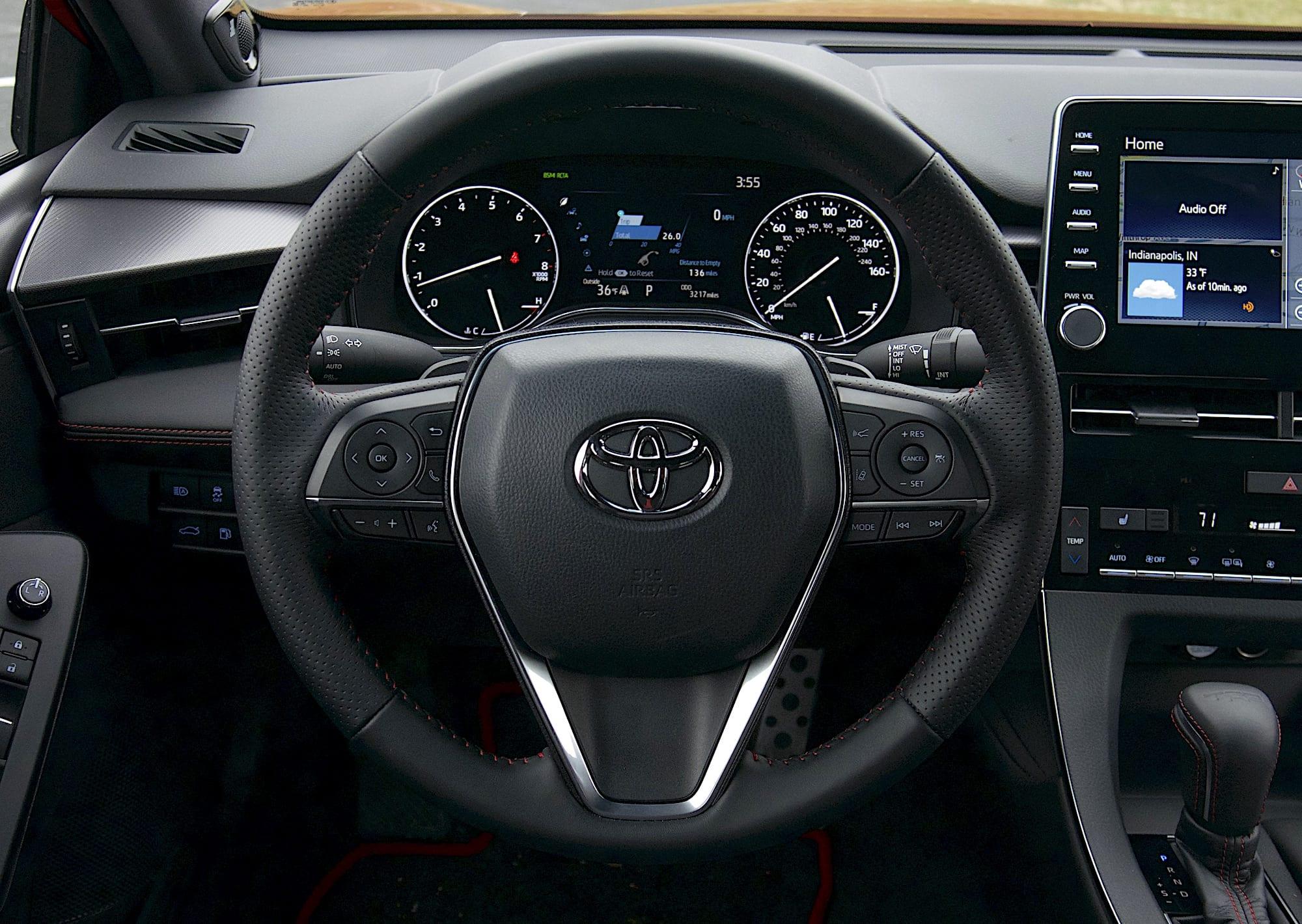 2020 toyota Avalon TRD steering wheel