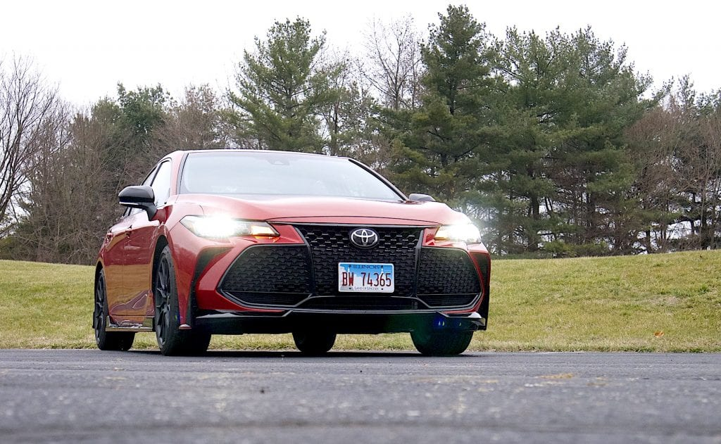 2020 toyota Avalon TRD front low