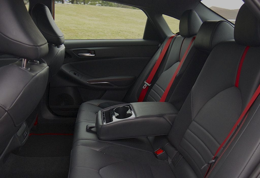 2020 toyota Avalon TRD back seat
