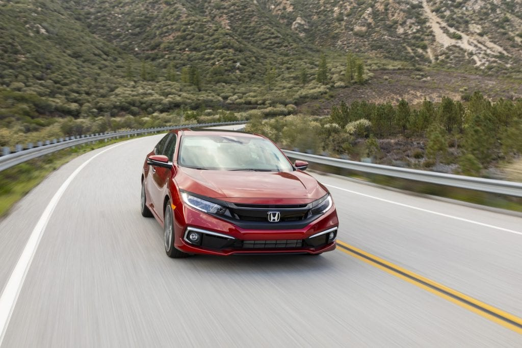 2020 Honda Civic Sedan Touring