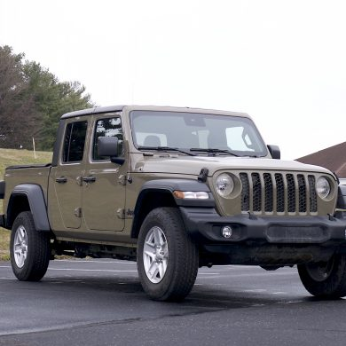 2020 Jeep Gladiator front three quarter