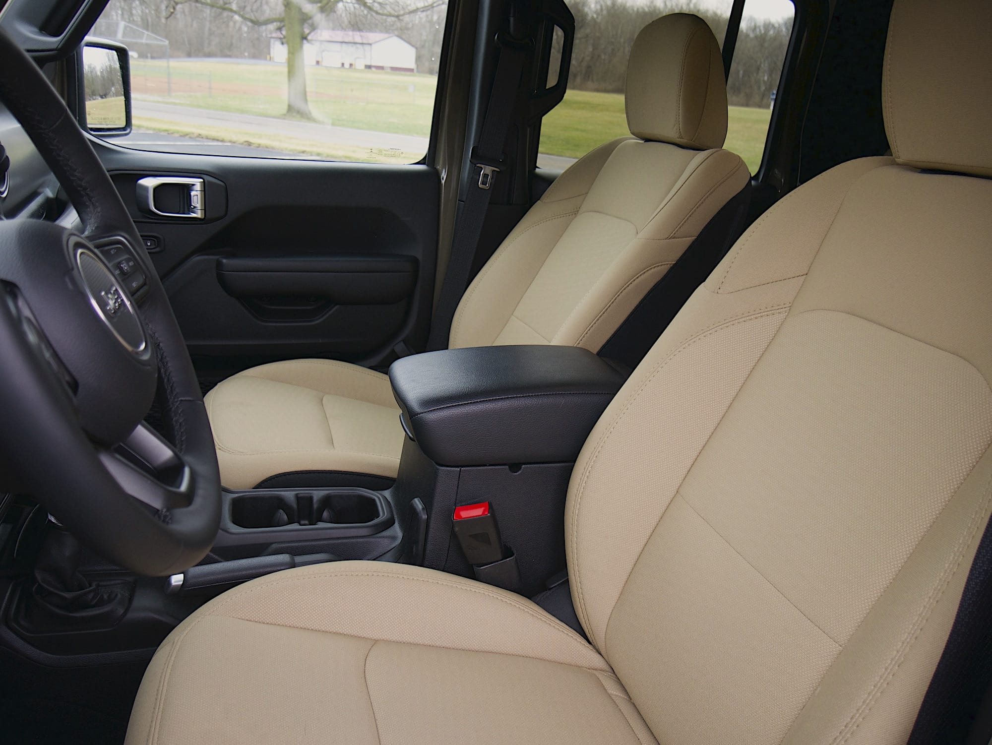 2020 Jeep Gladiator front seats