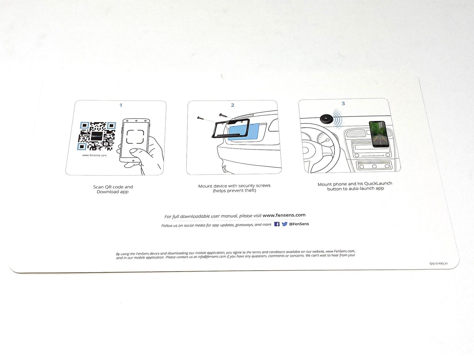 FenSens Wireless Backup Camera