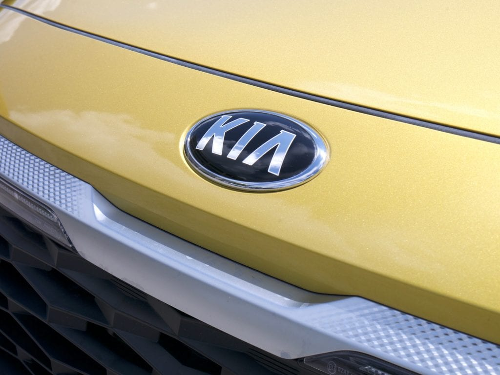 2021 Kia Seltos badge