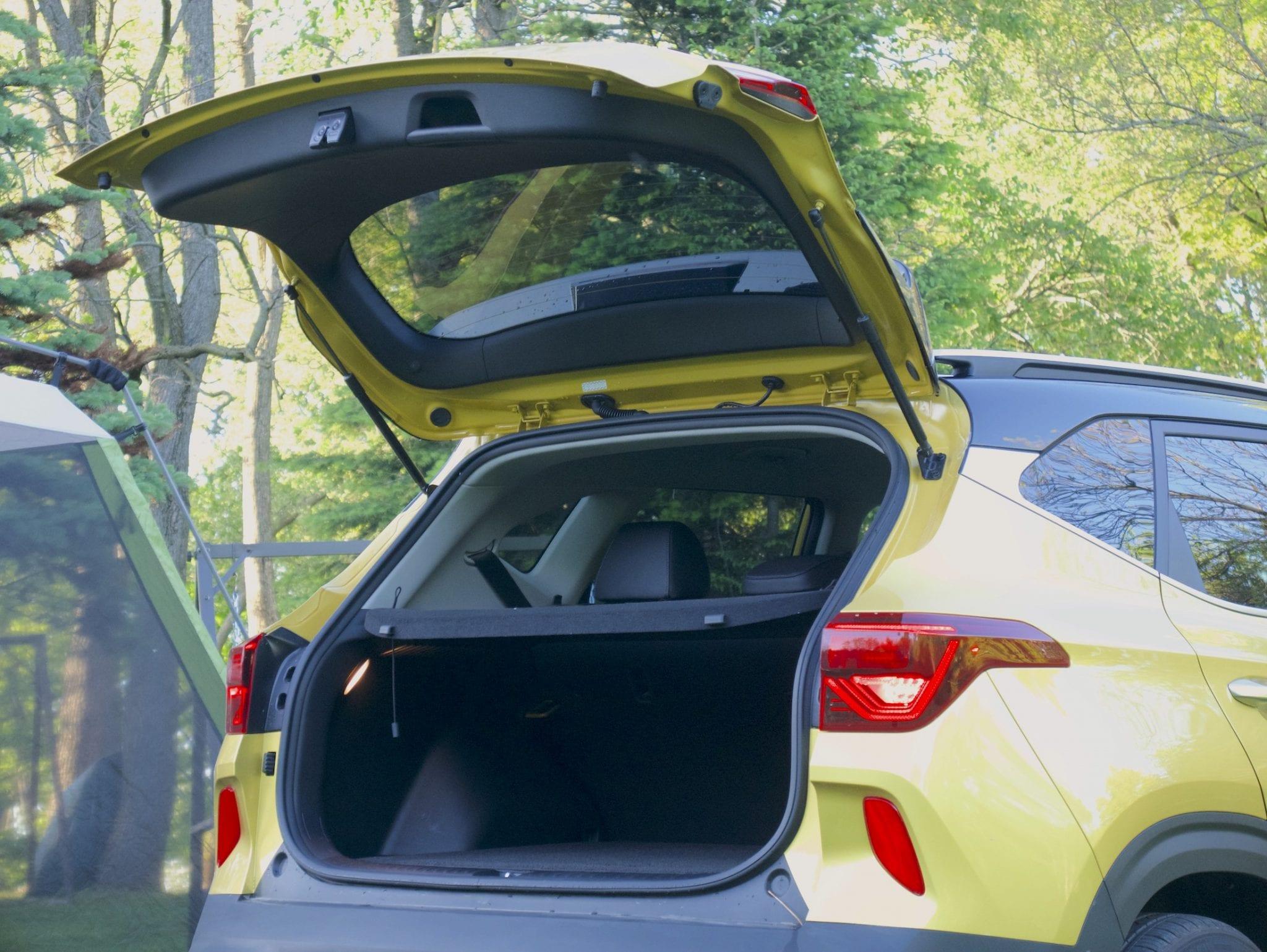 2021 Kia Seltos rear hatch