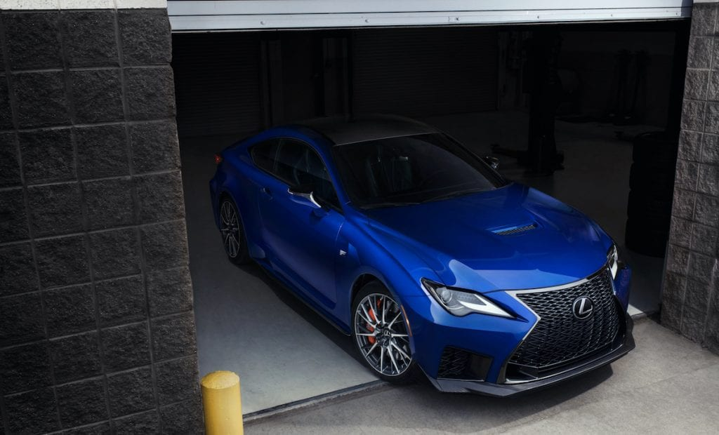 2020 Lexus RC-F