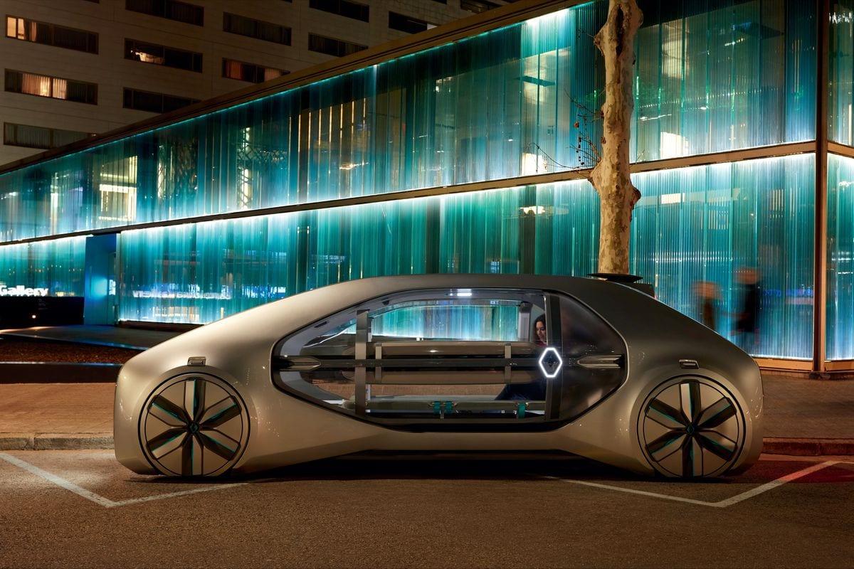 Renault autonomous concept car