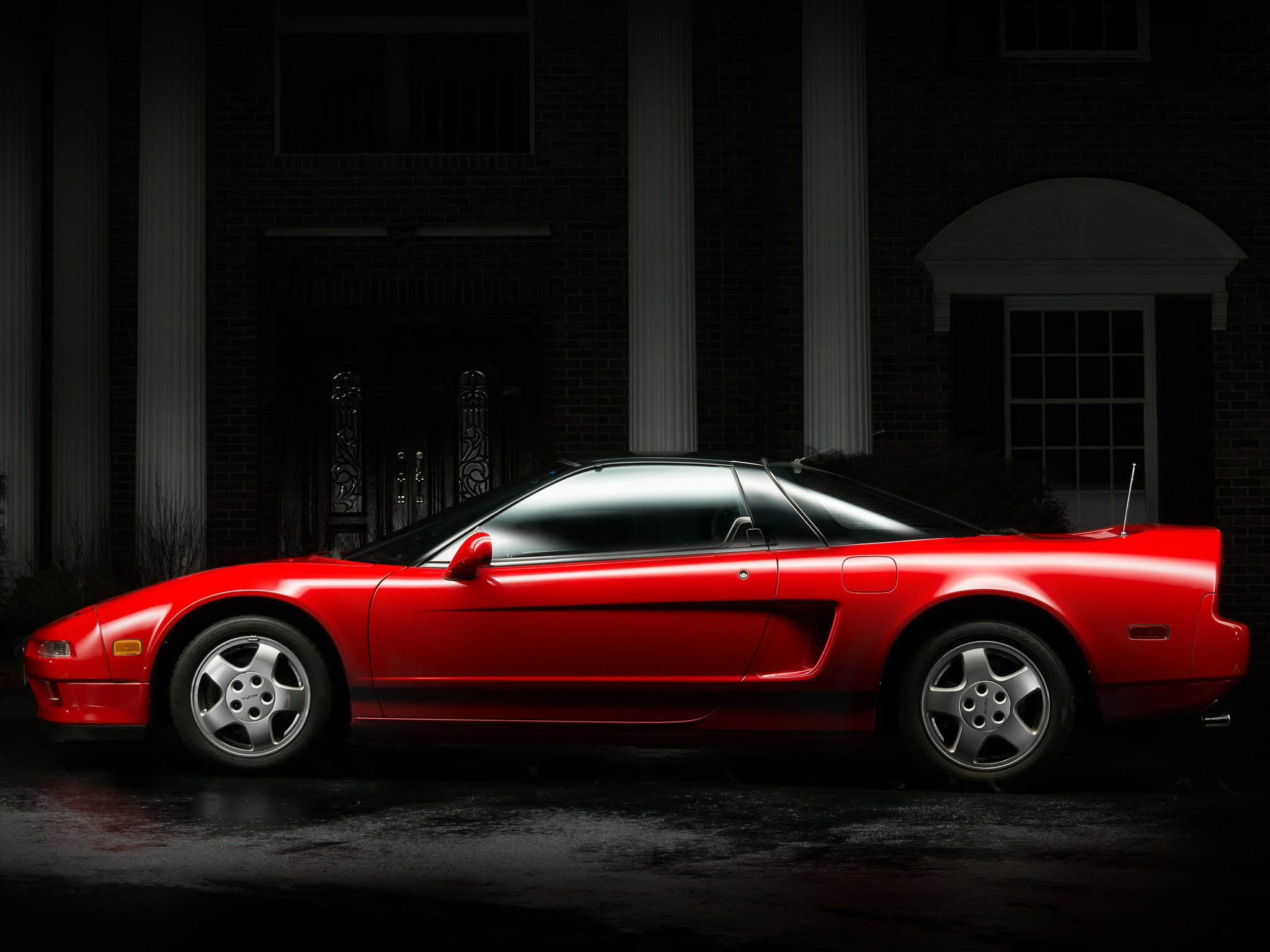 1991 Acura NSX side view