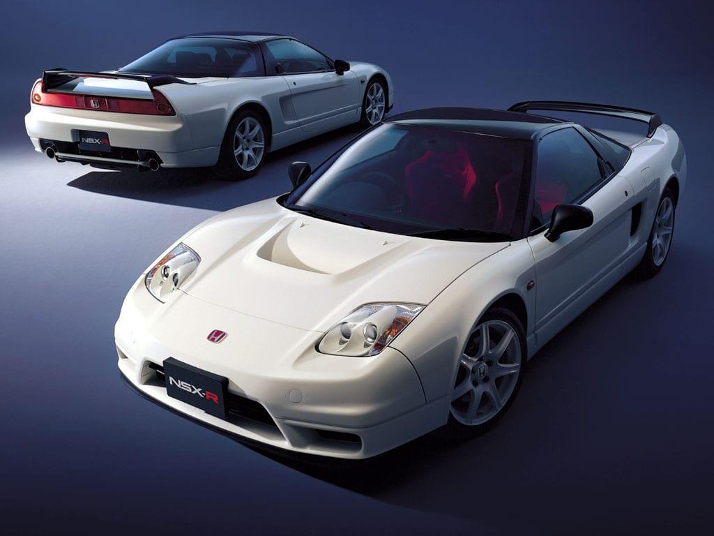 White 2002 Honda NSX