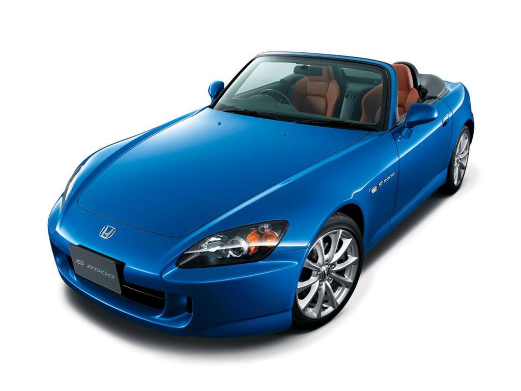 Blue 2006 Honda S2000