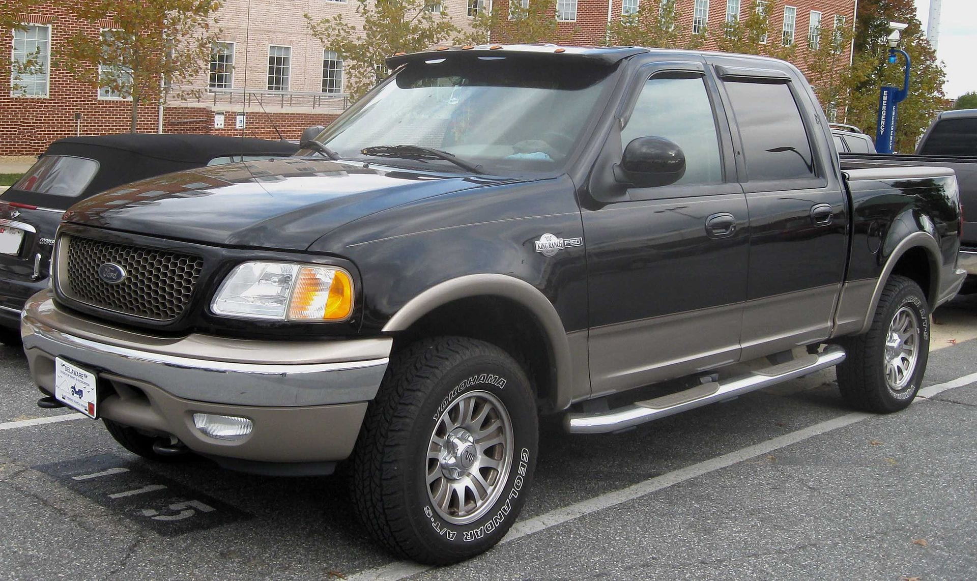 2004 Ford F150 King Ranch with 4R100 transmission