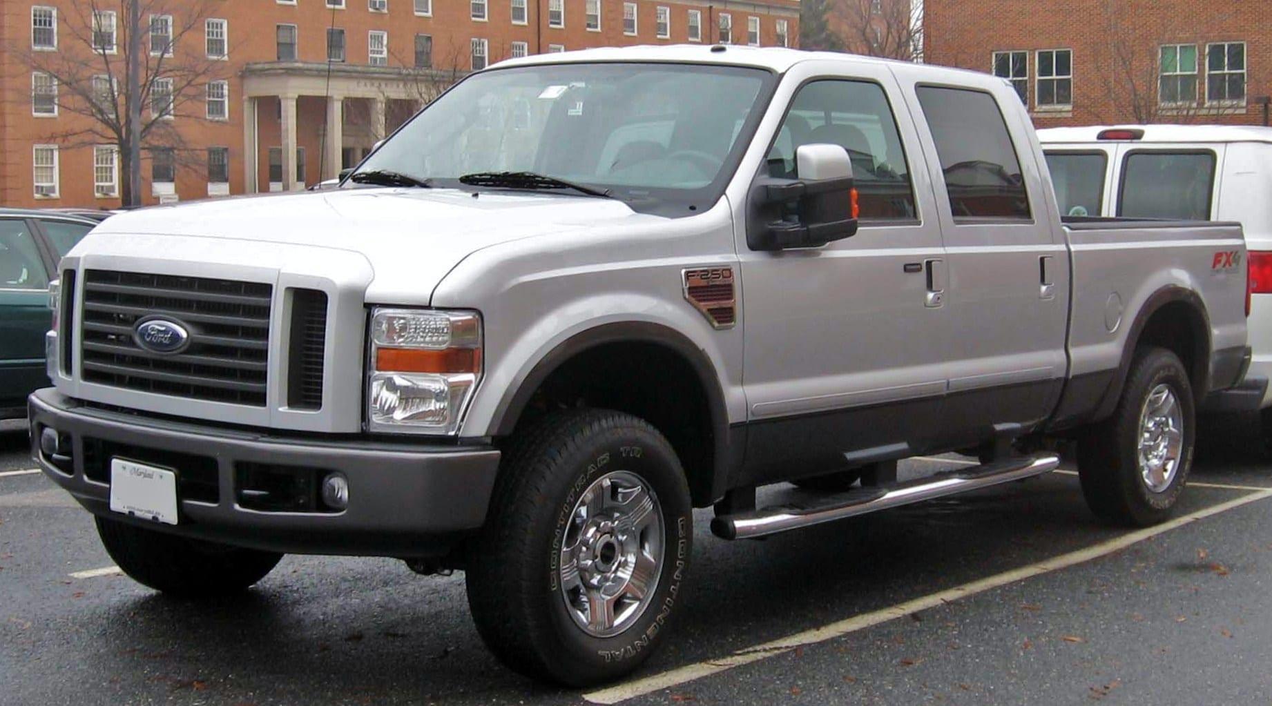 2008 Ford F250 Super Duty with 5R110 transmission
