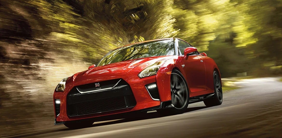 2021 Nissan GT-R Front View