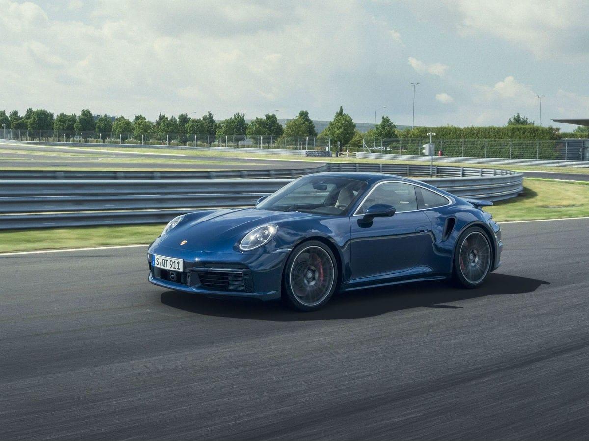 2021 Porsche 911 Turbo On Track