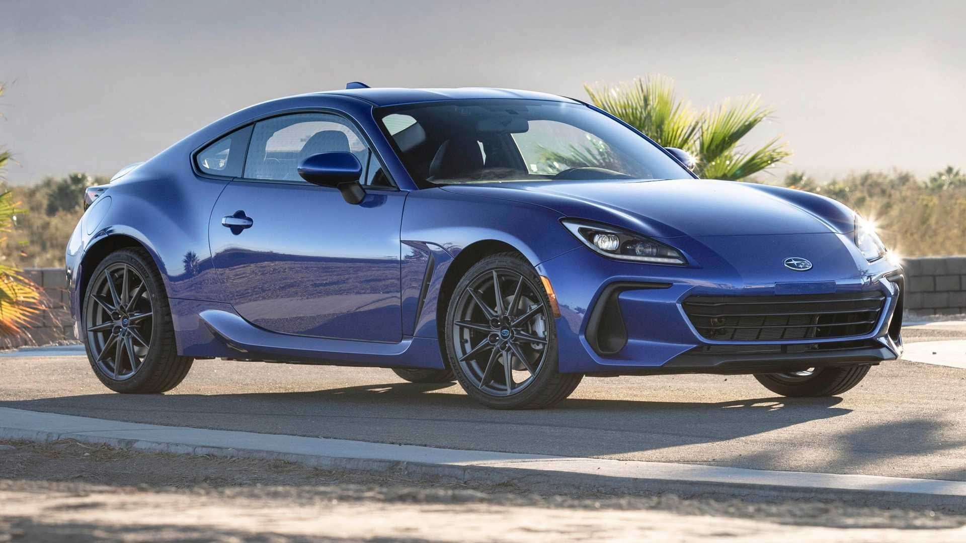 2021 Subaru BRZ Front and Side View
