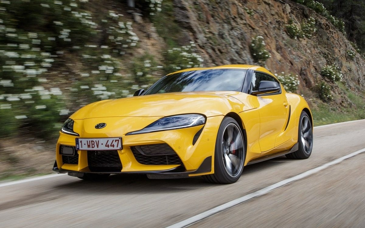 2021 Toyota Supra Front 3/4 On Road