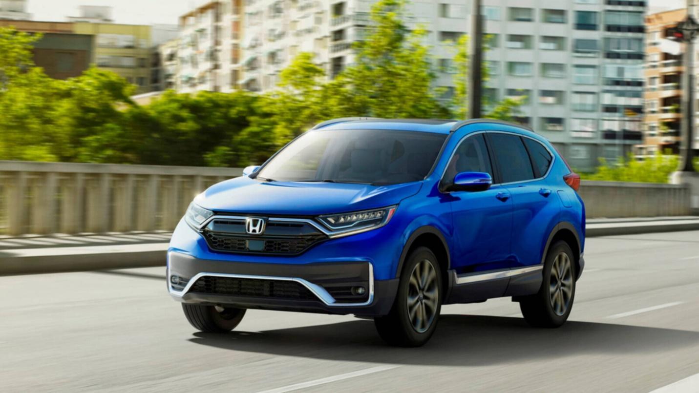 2021 Honda CR-V Driving In The City