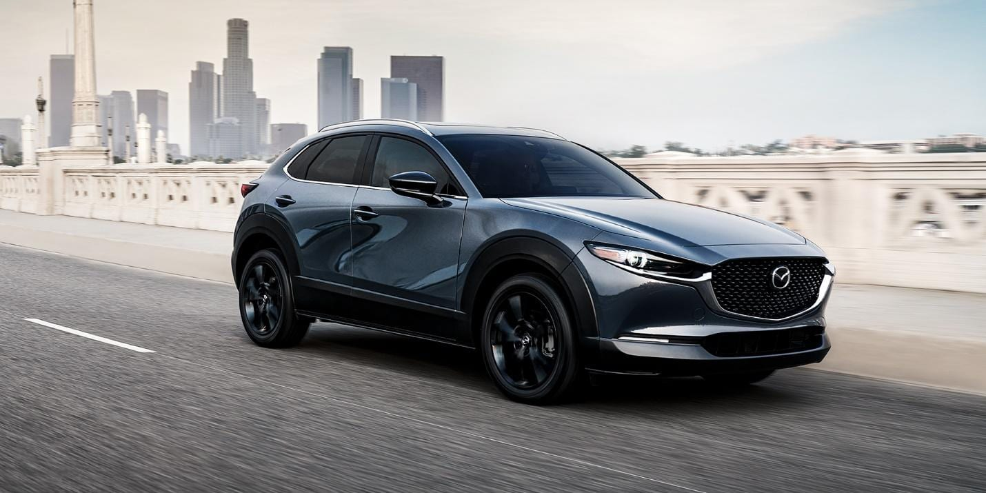 Mazda CX-30 Front and Side View