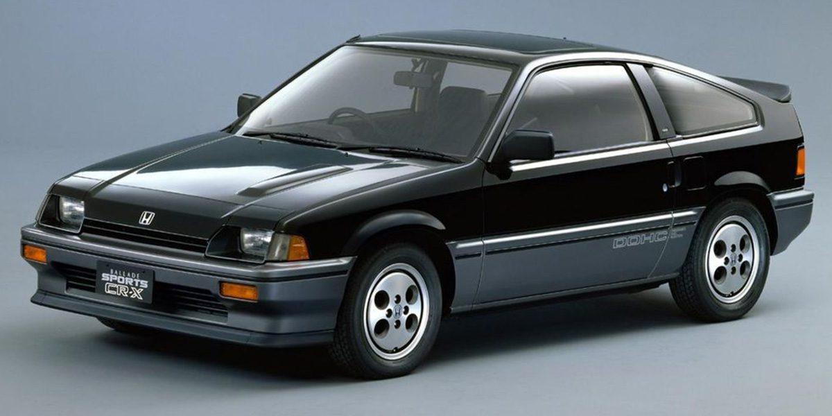 Black 1st Generation Honda CRX