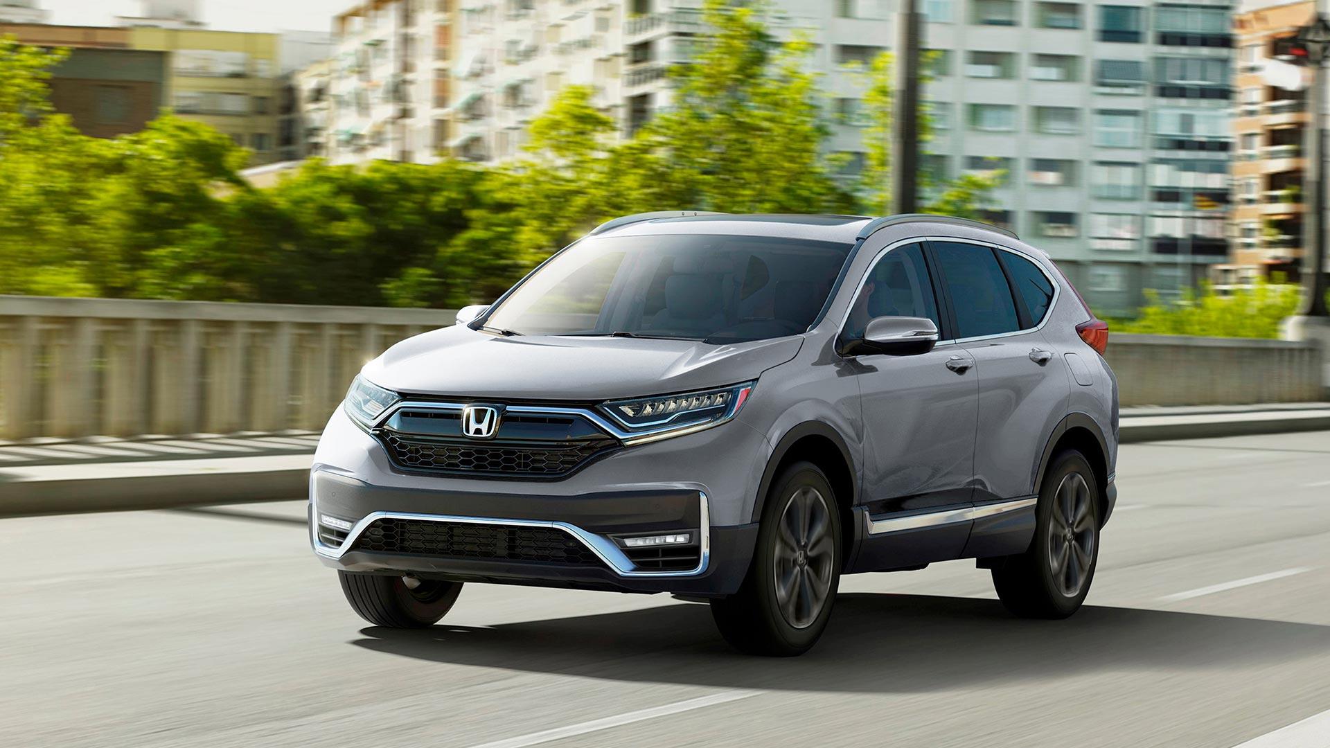 Gray 2021 Honda CR-V SUV
