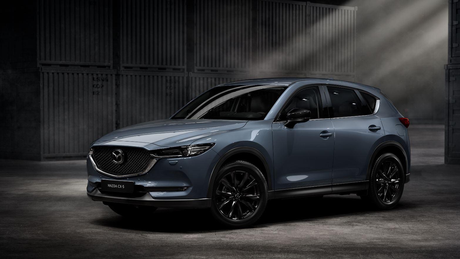 Gray 2021 Mazda CX-5 SUV