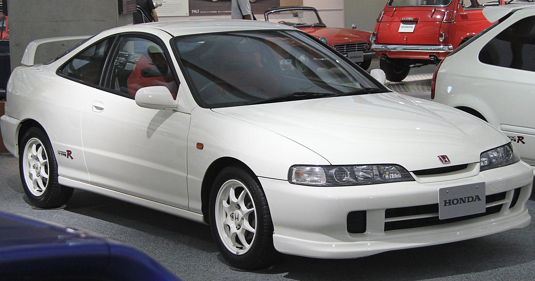 White Integra Type R
