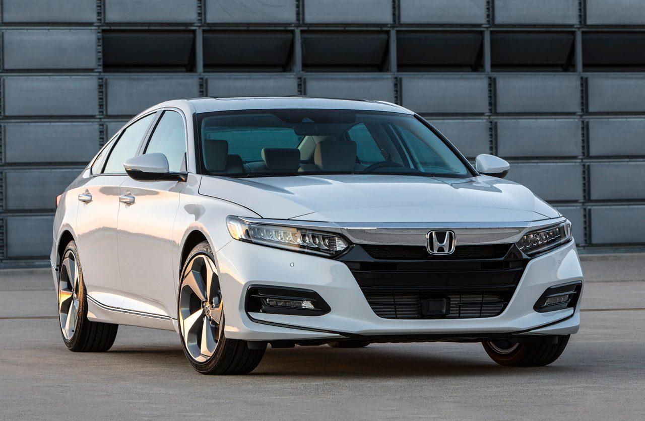 White Honda Accord