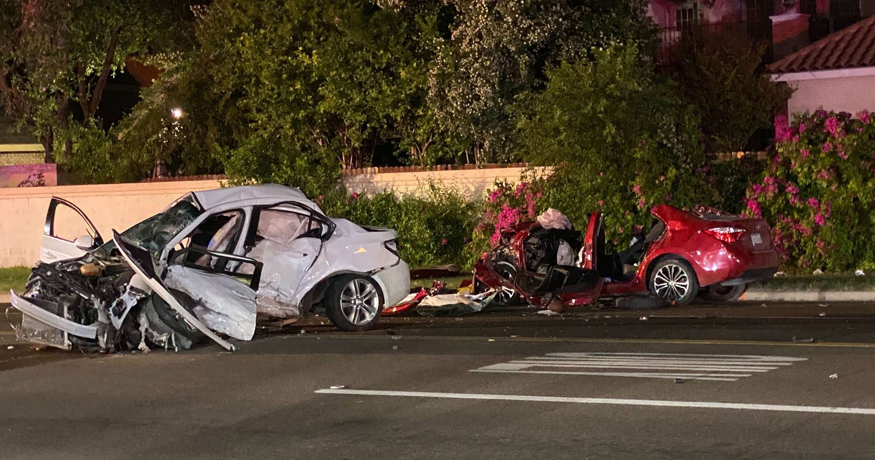 Fatal motor vehicle accident